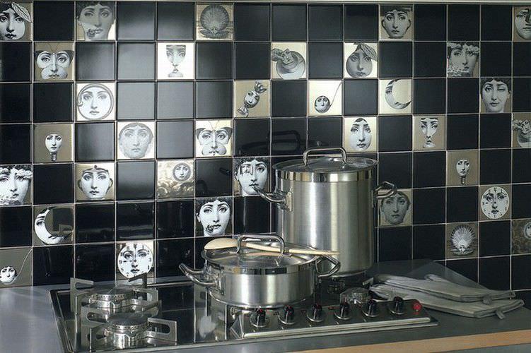 Piastrella da interno da cucina da parete in ceramica tema