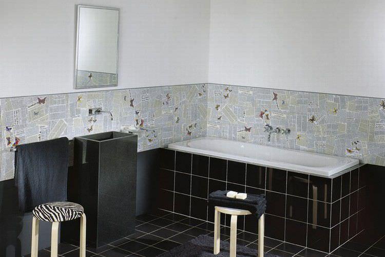 Piastrella da interno da bagno da parete in ceramica ultime