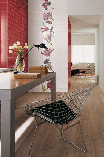 Piastrella da interno / da sala / da parete / in ceramica - TULI-POP ...