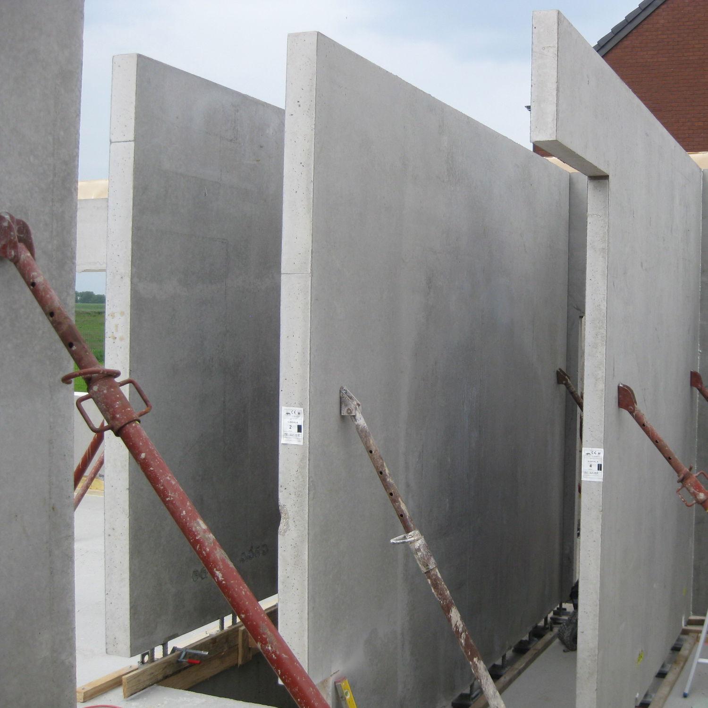 Muro In Cemento Armato Con Pannelli Modulari Prefabbricato