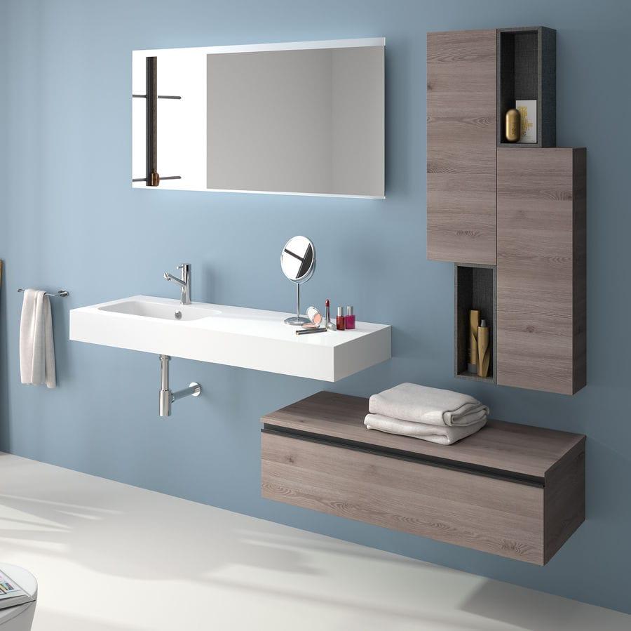 Mobile basso da bagno / da parete - SPIRIT 1000 - Salgar