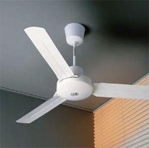 ventilatore a soffitto / industriale / in acciaio / in abs
