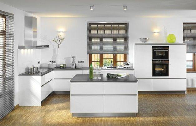 Cucina moderna / in legno / con isola / laccata - X-CRISTAL - Brigitte