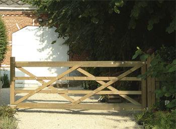 Cancelletto In Legno : Costruire un cancelletto fai da te in legno da divisorio in casa