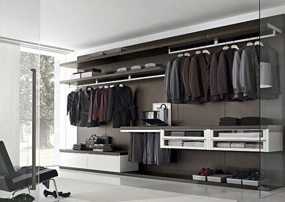 cabina armadio moderna / in legno - dress - le monde wood - Design Moderno Cabina Armadio