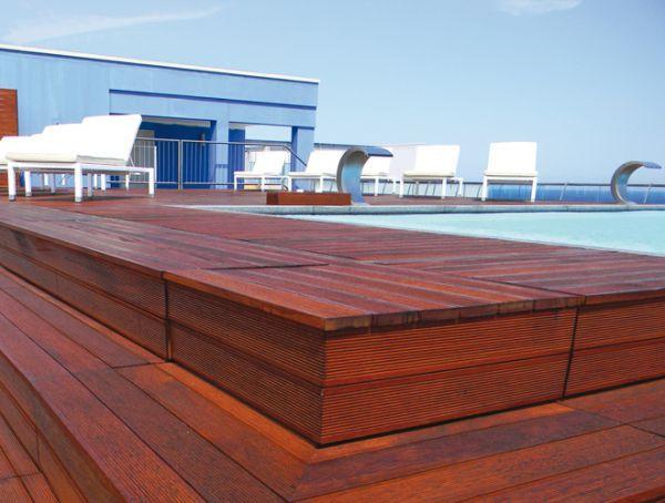 Grigliato in legno / per pavimento esterno - SPRECH S.r.l.