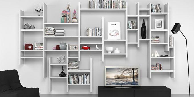 Libreria a muro / moderna - 7RF5300 - Mobilstella