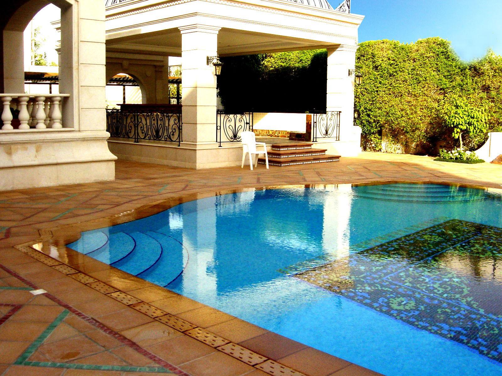 Piastrella da esterno per bagnasciuga di piscina da pavimento