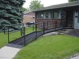 An image of a wheelchair ramp