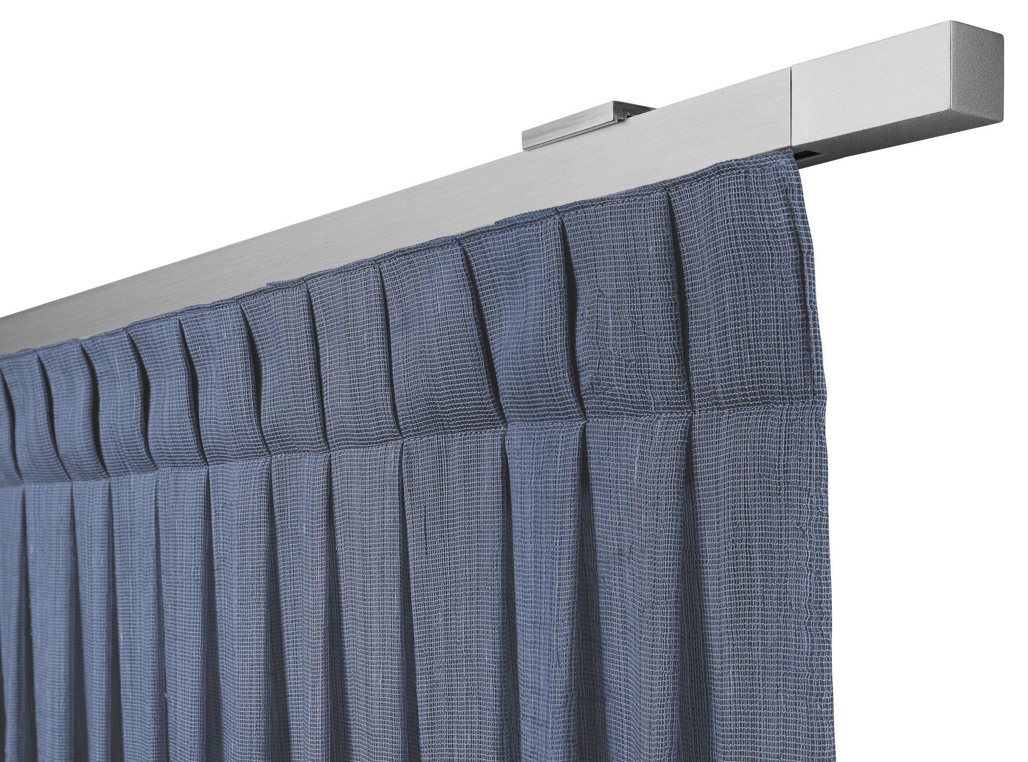 Binari Per Tende A Soffitto : Binario per tende con fissaggio murale ad azionamento manuale