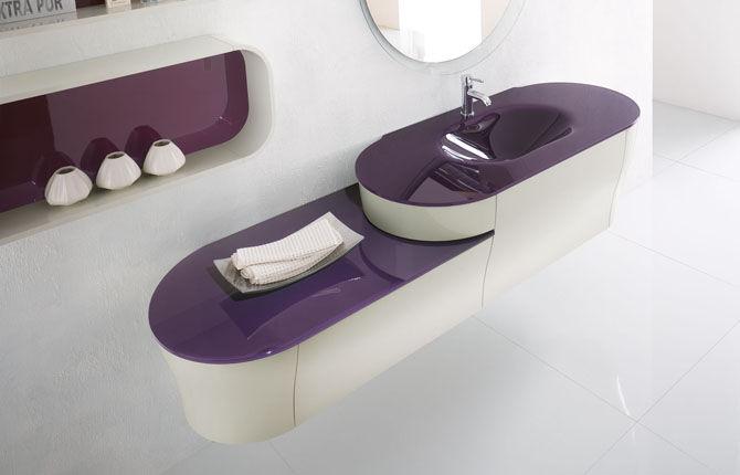Bagno moderno / in ceramica - CALYPSO 01 - BMT Bagni