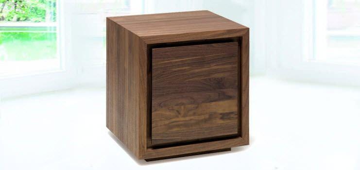 Comodino moderno / in legno / rettangolare - NT-BOX 2M - ZACK-Design