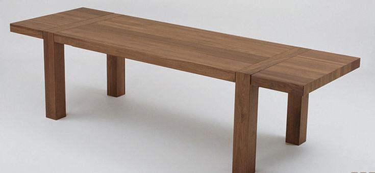 Tavolo moderno / in legno / allungabile - LASCANO TECHNO - ZACK-Design