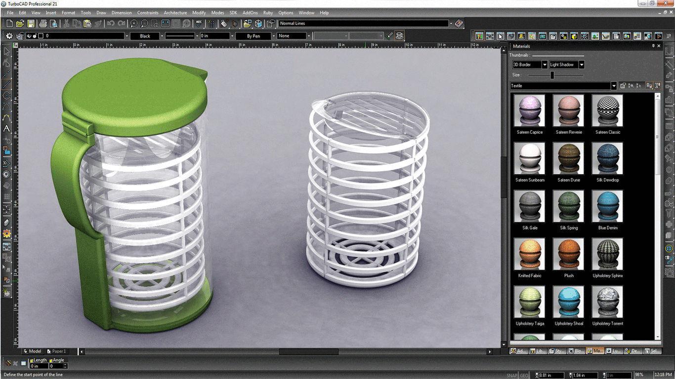 Software di modelizzazione / per rendering / per scala / 2d ...
