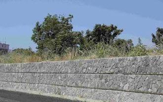 Preventivo Muro Cemento Armato.Muro Di Contenimento In Cemento Armato Modulare Prefabbricato
