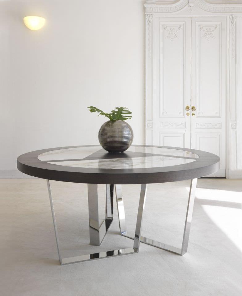tavolo moderno / in marmo / rotondo / da interno - cricket by ... - Tavolo Rotondo Moderno Design