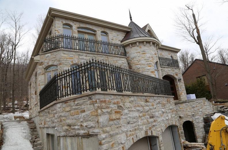 Bien connu Ringhiera in ferro modellato / a sbarre / da esterno / per balcone  MG51