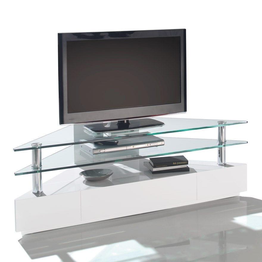 Mobile TV moderno / hi-fi / in vetro - BLU-RAY : 41242 - MOTARD