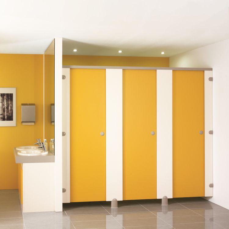 Cabina WC per bagno pubblico / in laminato - AWARD - Venesta