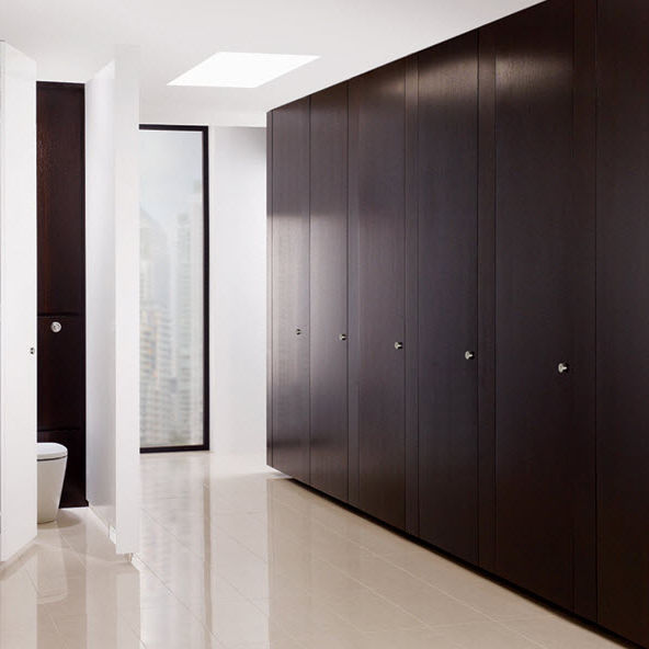 Cabina WC per bagno pubblico / in laminato - INFINITE - Venesta