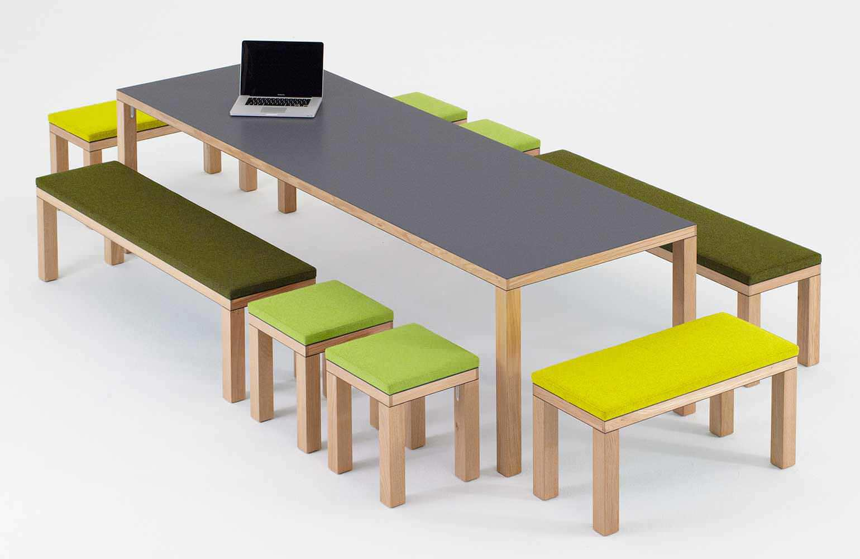 set tavolo e panca moderno / da giardino / per uso residenziale ... - Tavolo Panca Da Giardino