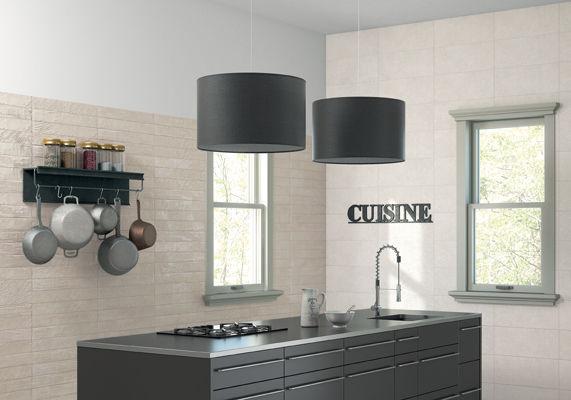 piastrella da cucina / da parete / in ceramica / lucidata - le ... - Ceramica Cucina