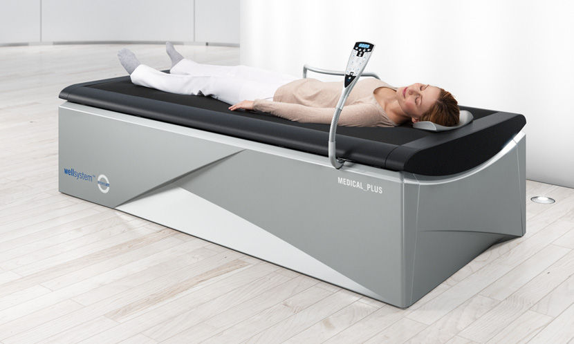 Letto ad acqua da massaggio wellsystem medical plus wellsystem
