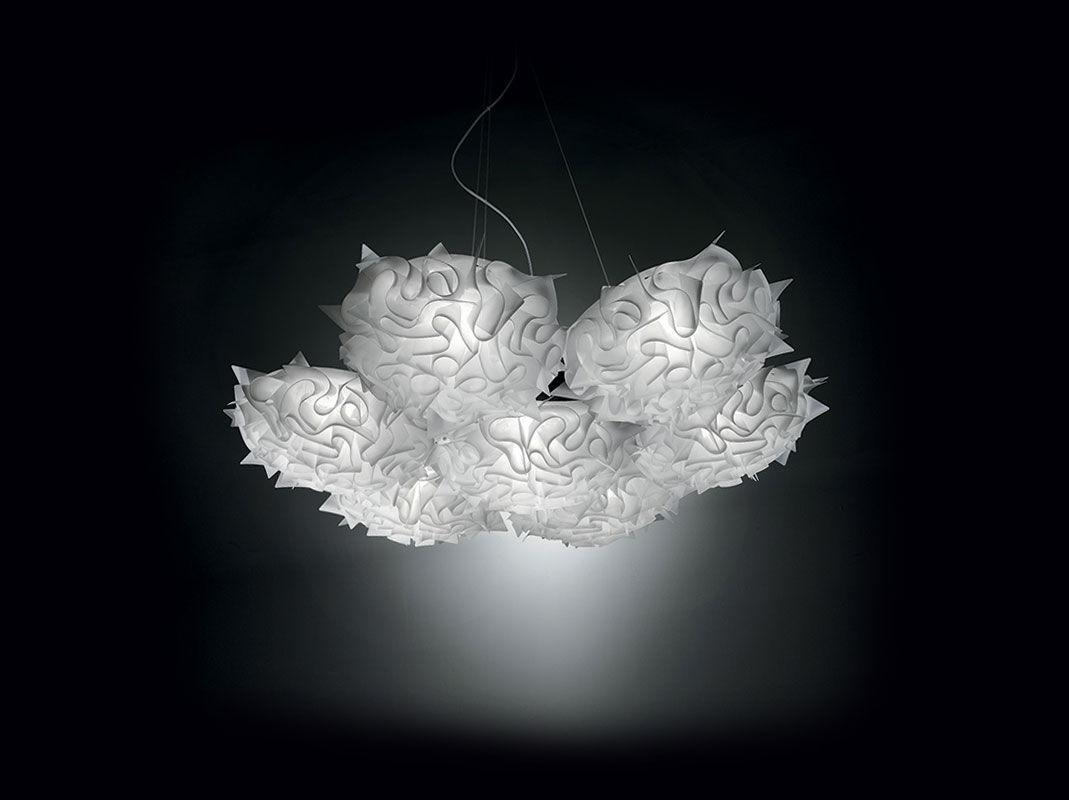 Lampada a sospensione design originale in opalflex da