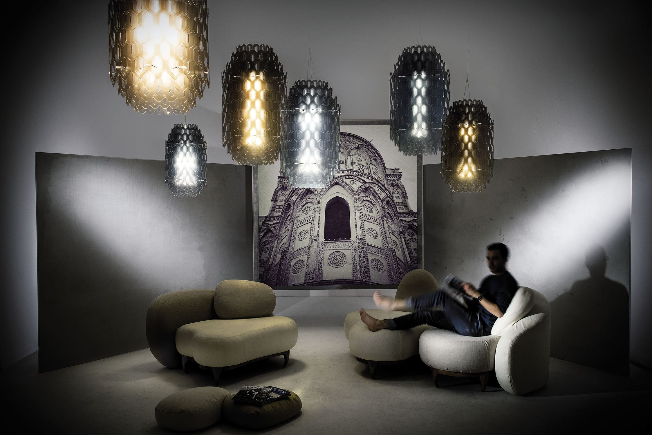 Lampadario Fiorella Slamp : Slamp flora small lampada a sospensione lampadario design lamp