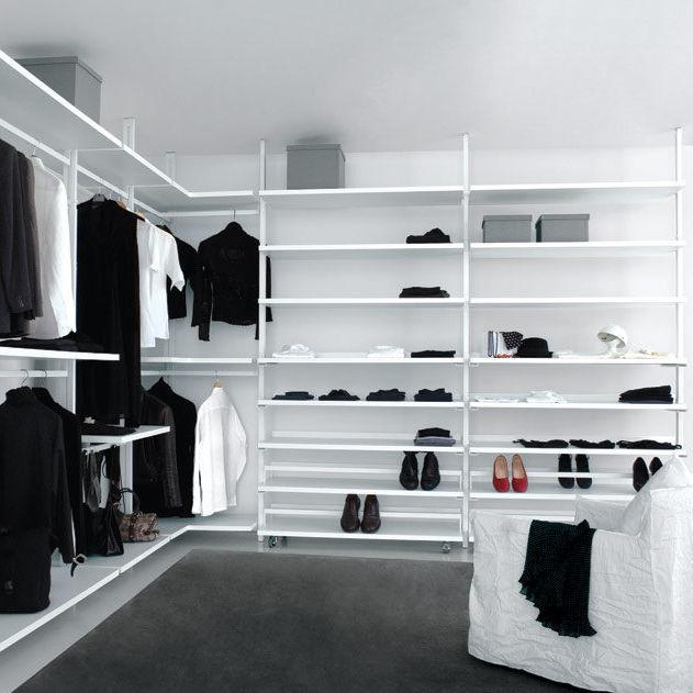 Cabina armadio moderna / in alluminio laccato - PERSONAL : PE01 ...
