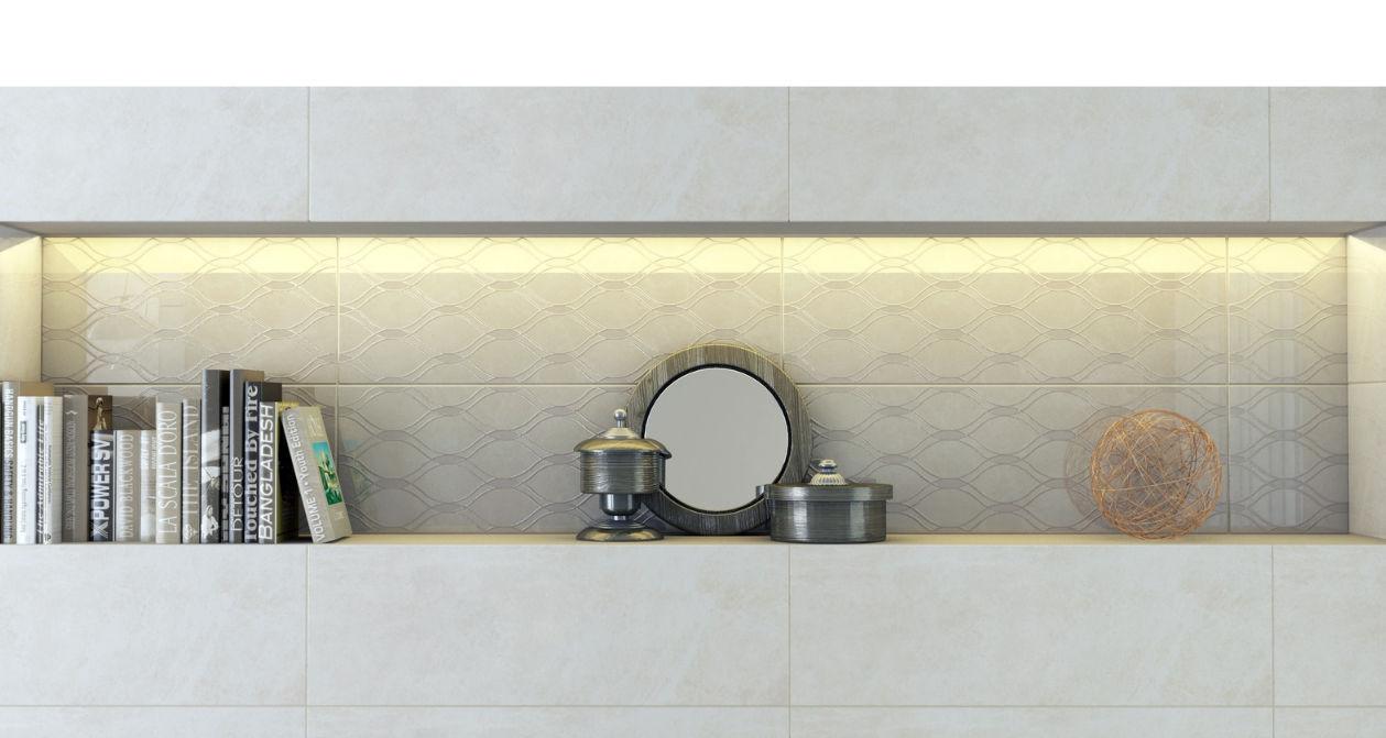 Parete Doro : Piastrella da interno da bagno da parete in ceramica
