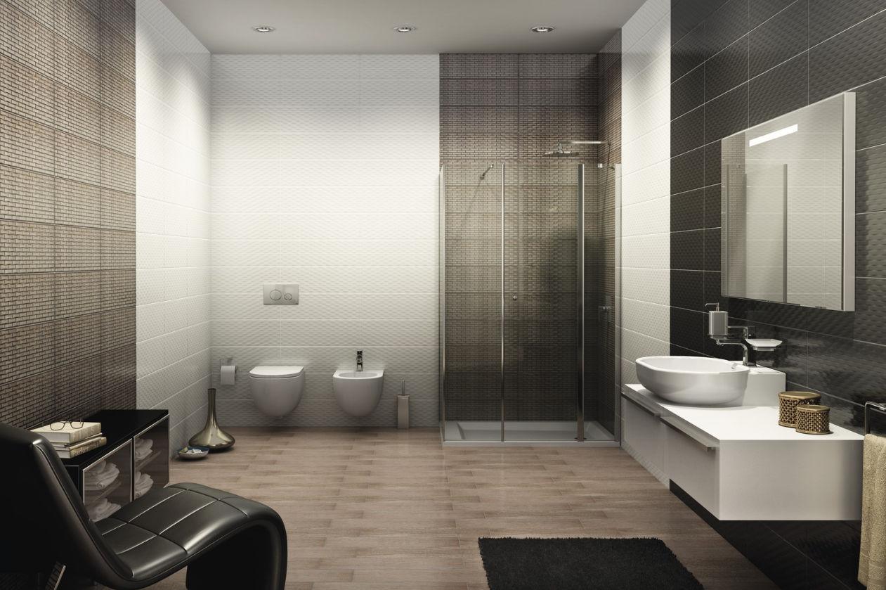 Piastrella da bagno da pavimento in ceramica metallizzato