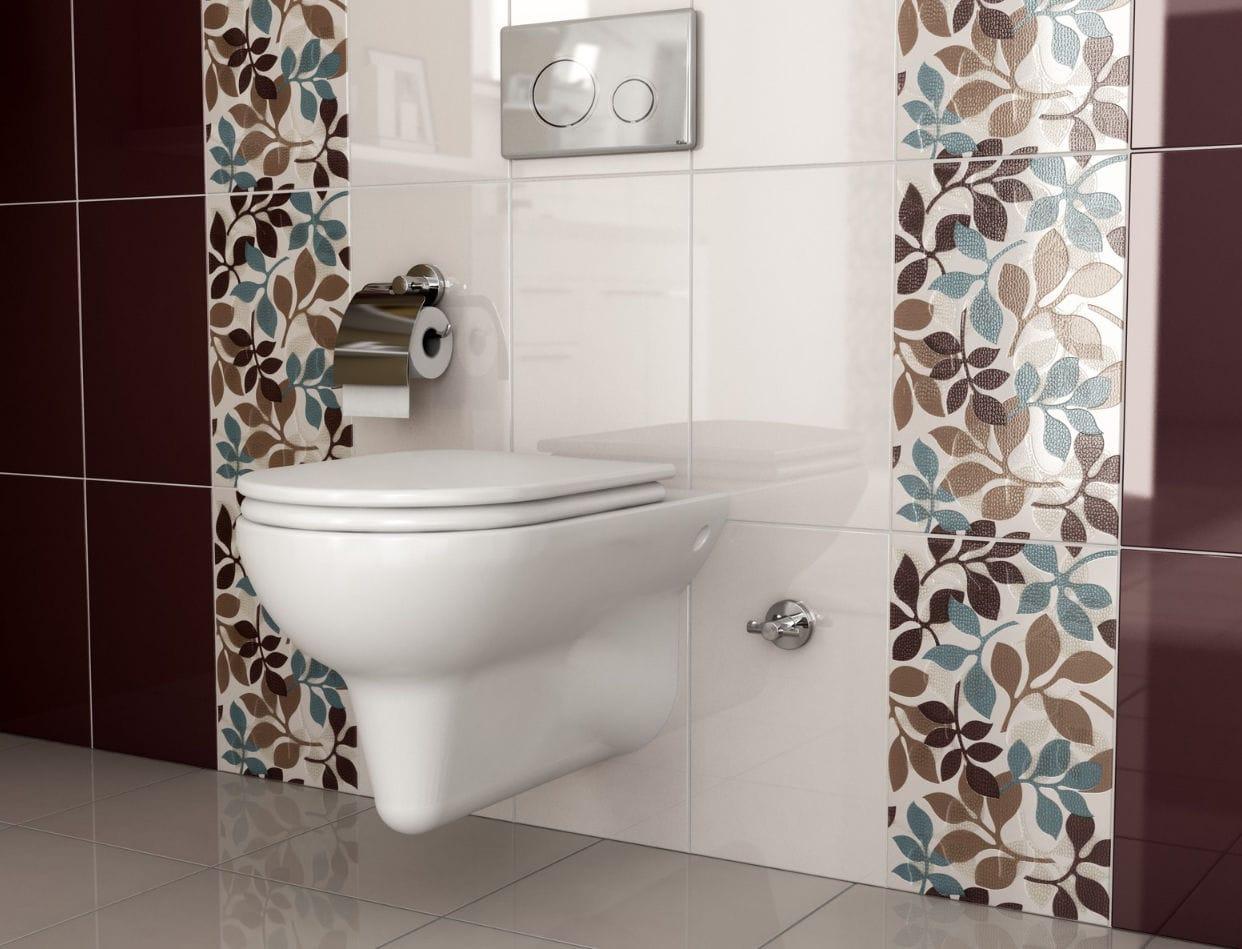Piastrella da bagno da pavimento in ceramica 3d opera kale