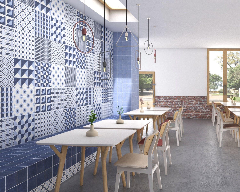 Piastrella da bagno da cucina da sala da parete new pop