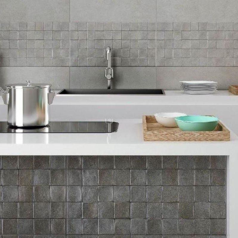 Piastrella da cucina / da parete / in ceramica / rettangolare ...