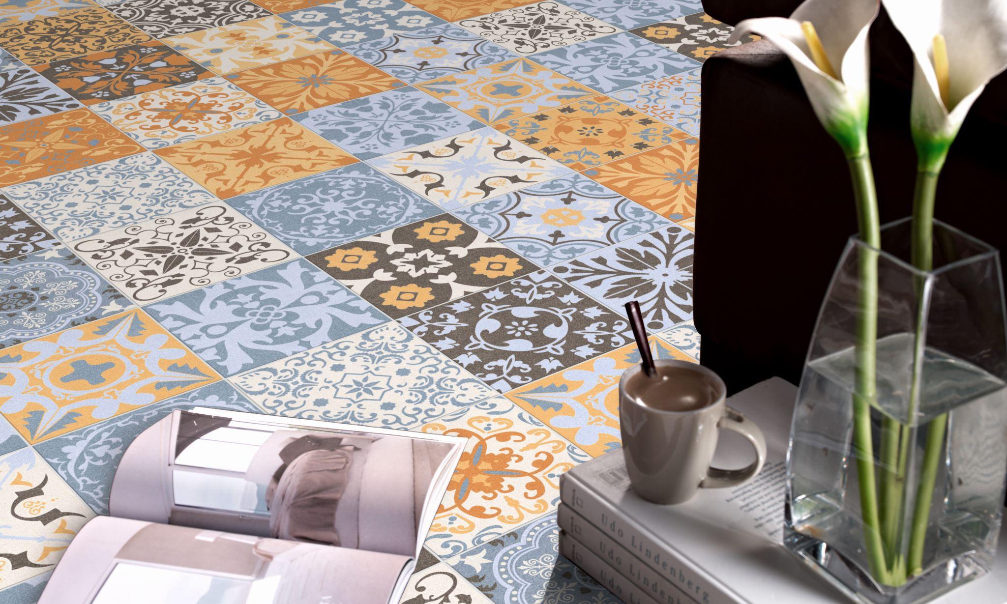 Piastrella da cucina da pavimento in gres porcellanato