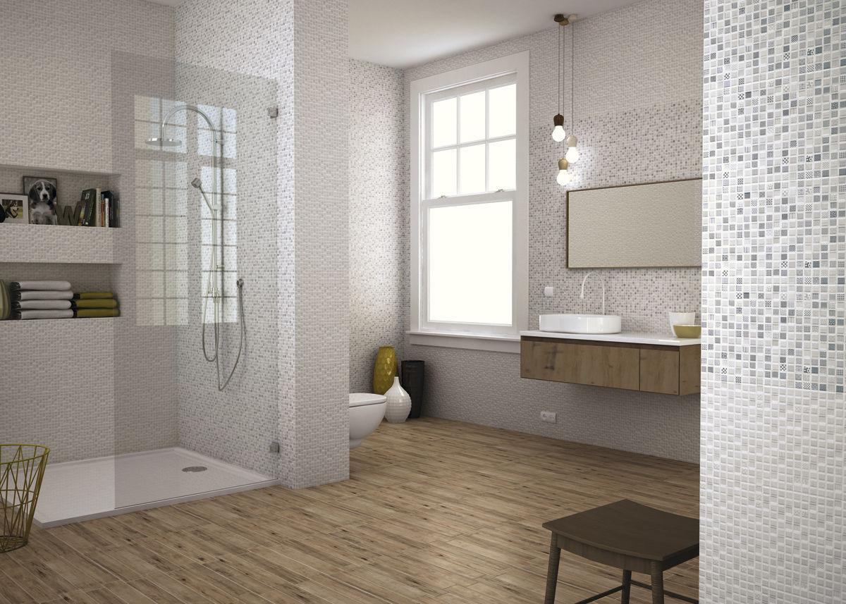 Piastrella da interno da bagno da parete in ceramica chloe