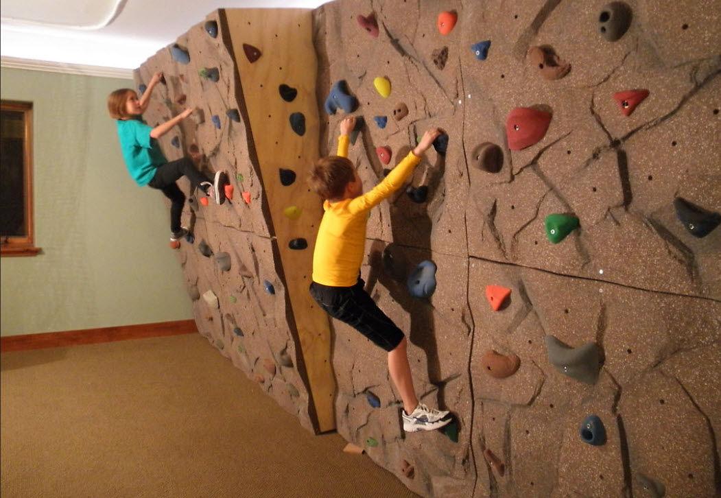 Parete Scalata Bambini : Parete darrampicata fissa solidrock™ eldorado climbing walls