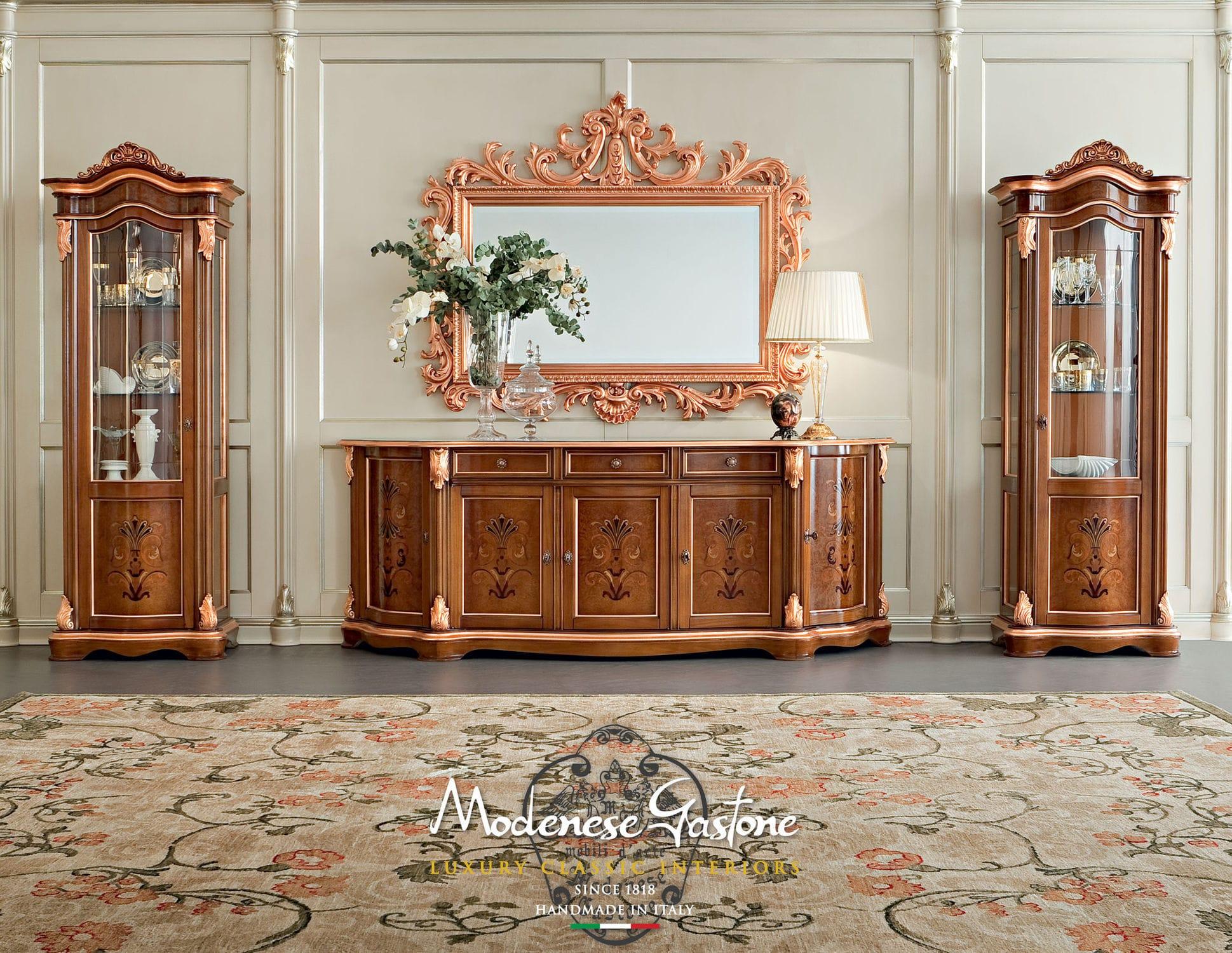 La Bella Vita Credenza : Credenza in stile legno bella vita modenese interiors