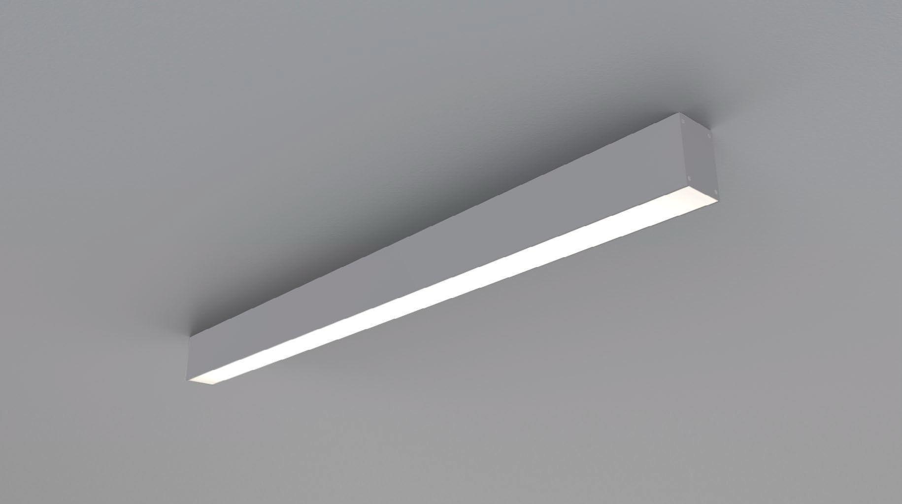 Plafoniere Da Cucina A Led : Plafoniera moderna lineare in plastica led z k