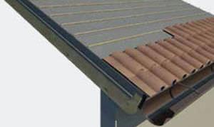 Isolante termico in polistirene espanso per tetto ventilato