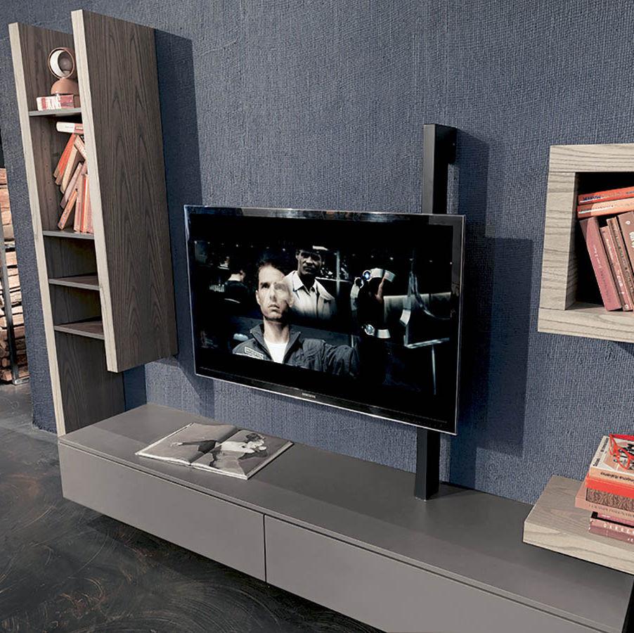 Supporto per TV da parete moderno / girevole / in metallo - FLAG ...