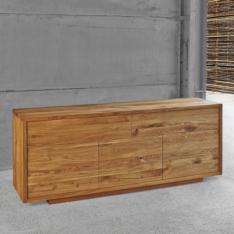 Credenza Moderna Su Misura : Credenza moderna in quercia noce legno massiccio