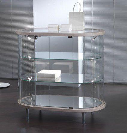 Vetrina moderna / in vetro / illuminata / professionale - TOP LINE 3 ...