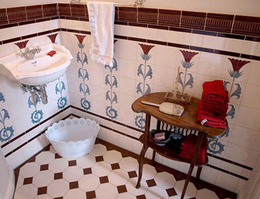 Piastrella da bagno da parete in maiolica cm f a