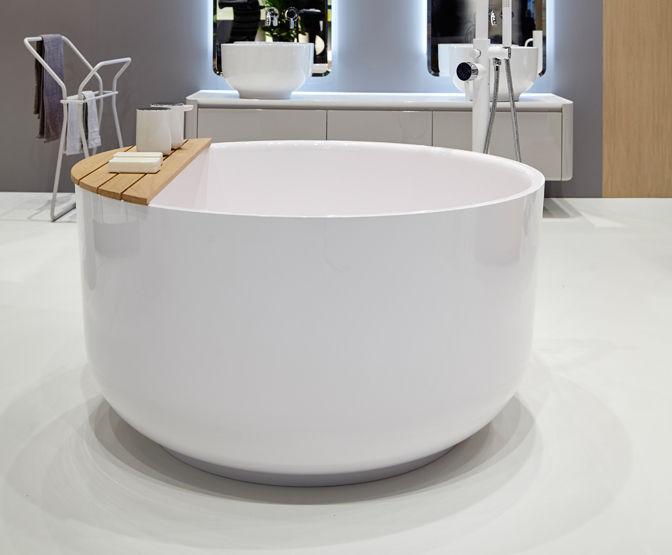 Vasca Da Bagno Marmo : Vasca da bagno da appoggio tonda in marmo origin by seung