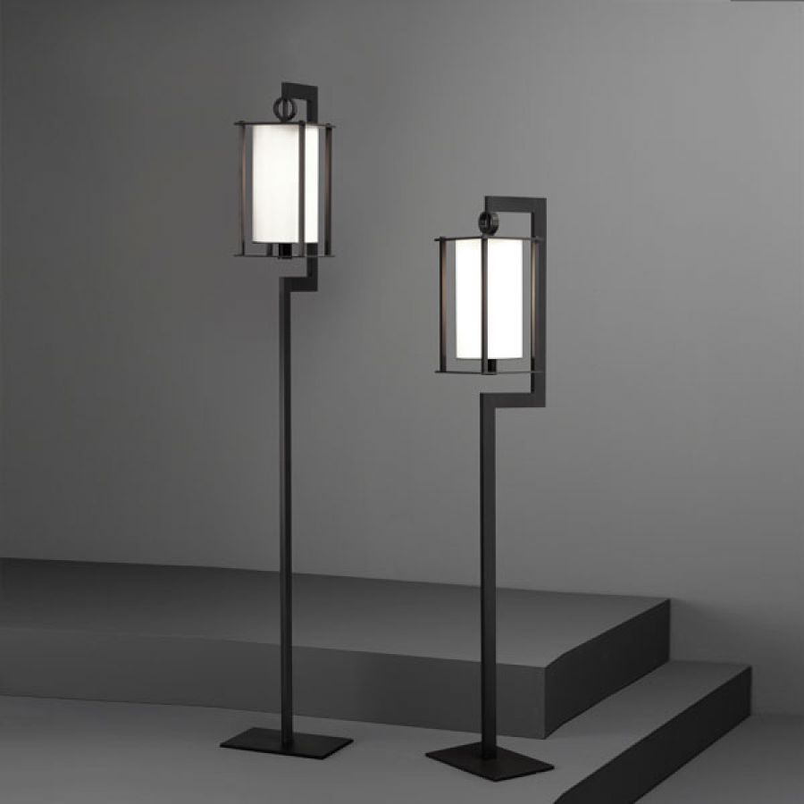 Lampada con piede / moderna / in vetro di Murano / da interno ...