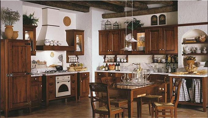 Cucina classica / in legno massiccio / in legno - FRANCESCA - Arrex