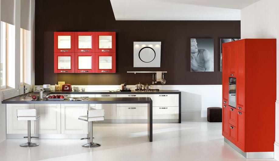 Cucina moderna / in legno / laccata - GIOIA - Arrex