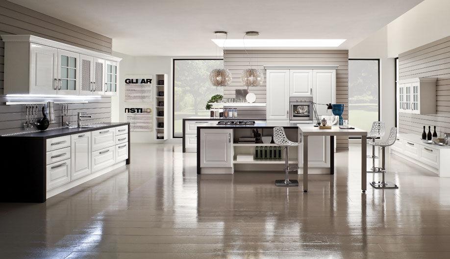 Cucina moderna / in legno / laccata - AFRODITE - Arrex